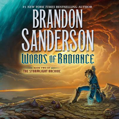Words of Radiance: Book Two of the Stormlight Archive Audiobook, by Brandon Sanderson