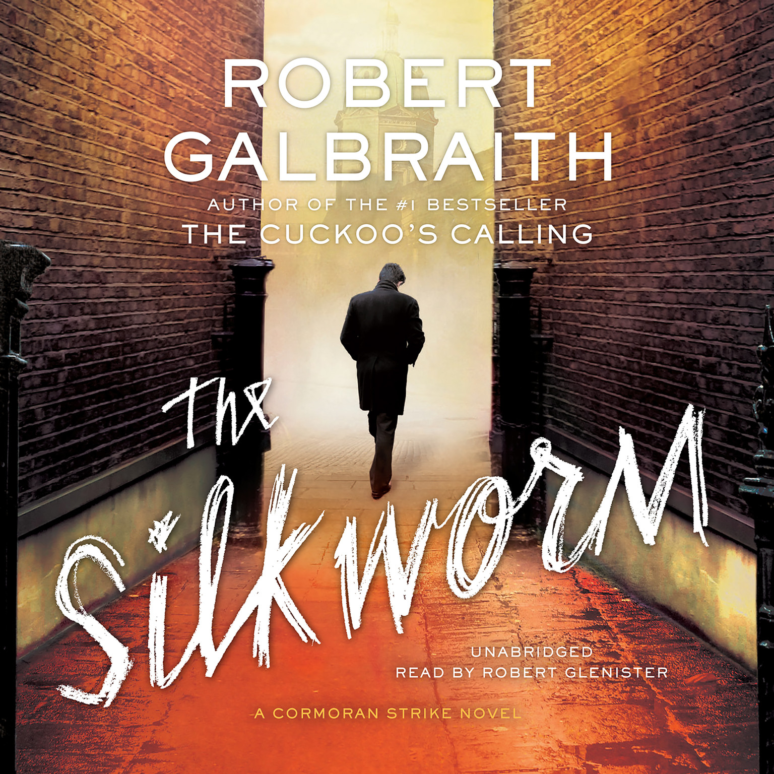 Printable The Silkworm Audiobook Cover Art