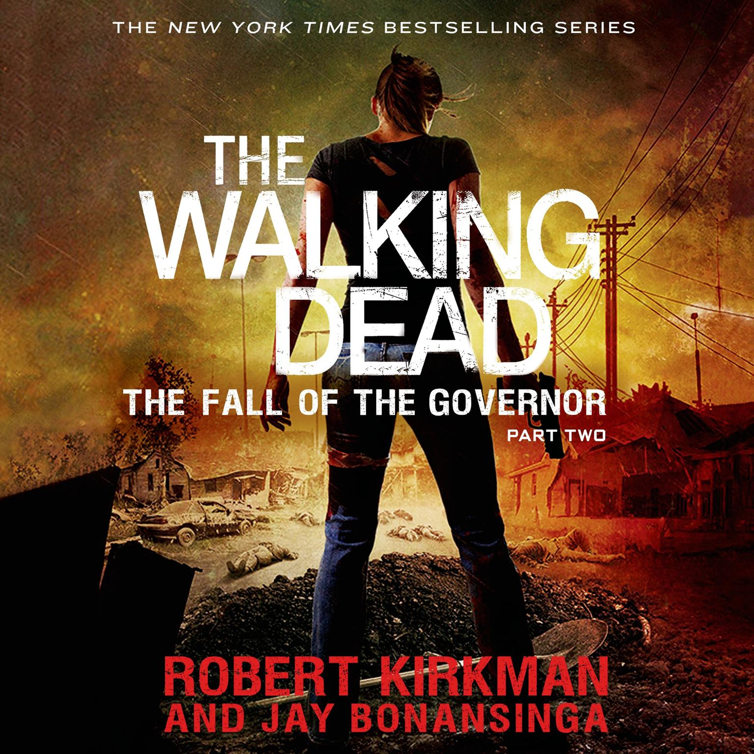 Printable The Walking Dead: The Fall of the Governor: Part Two Audiobook Cover Art