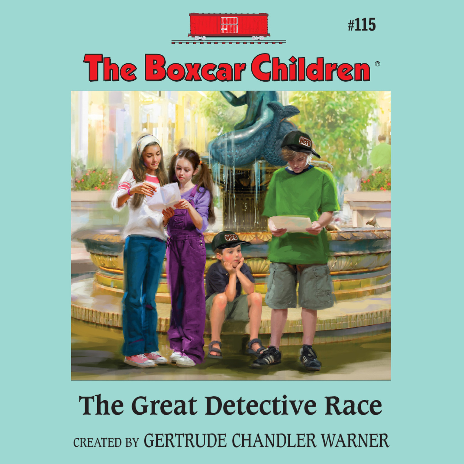 Printable The Great Detective Race Audiobook Cover Art