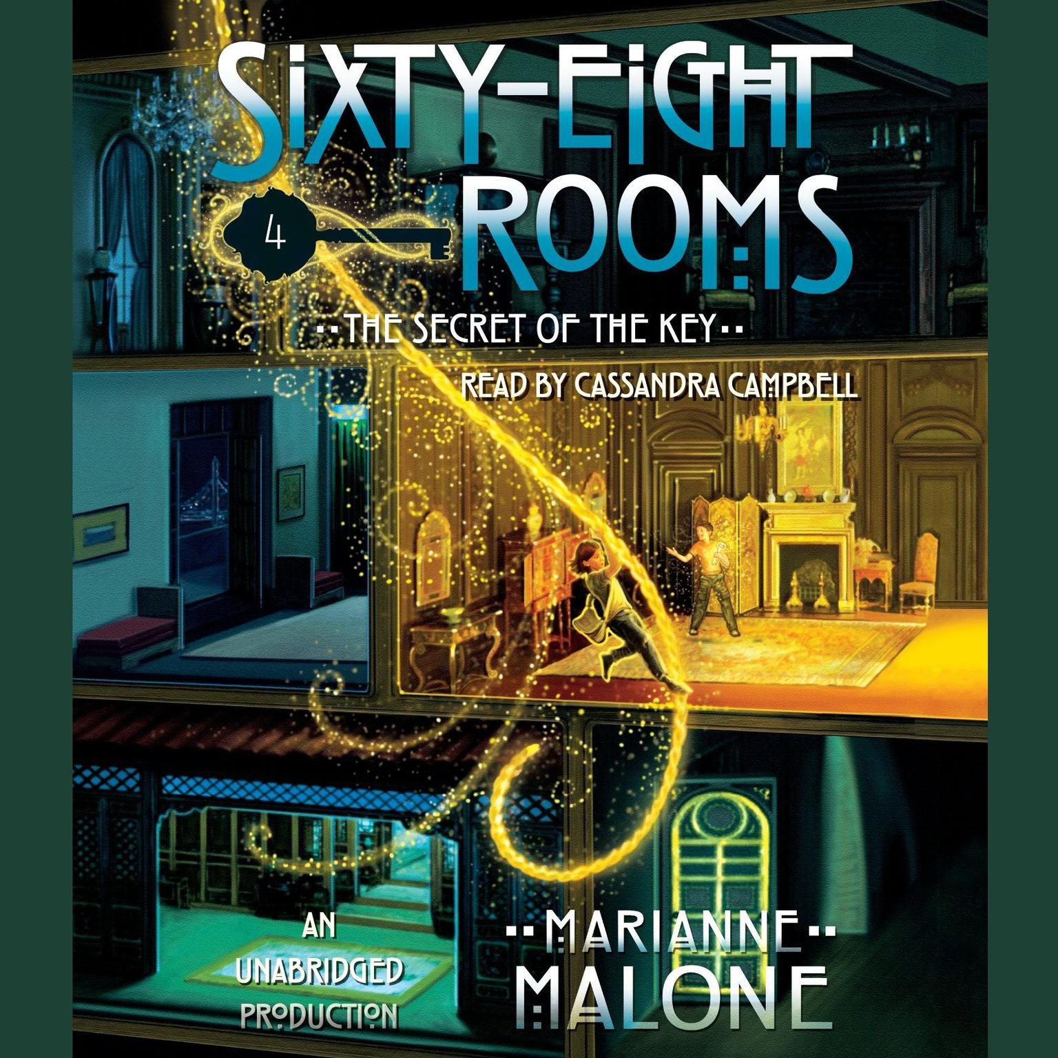 Printable The Secret of the Key: A Sixty-Eight Rooms Adventure Audiobook Cover Art
