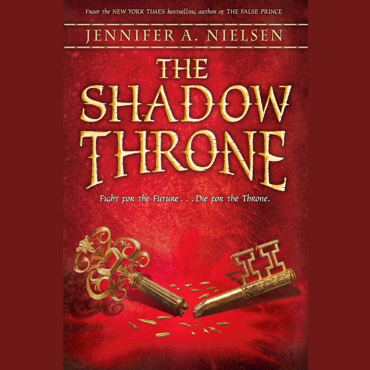 Printable The Shadow Throne: Book 3 of The Ascendance Trilogy Audiobook Cover Art