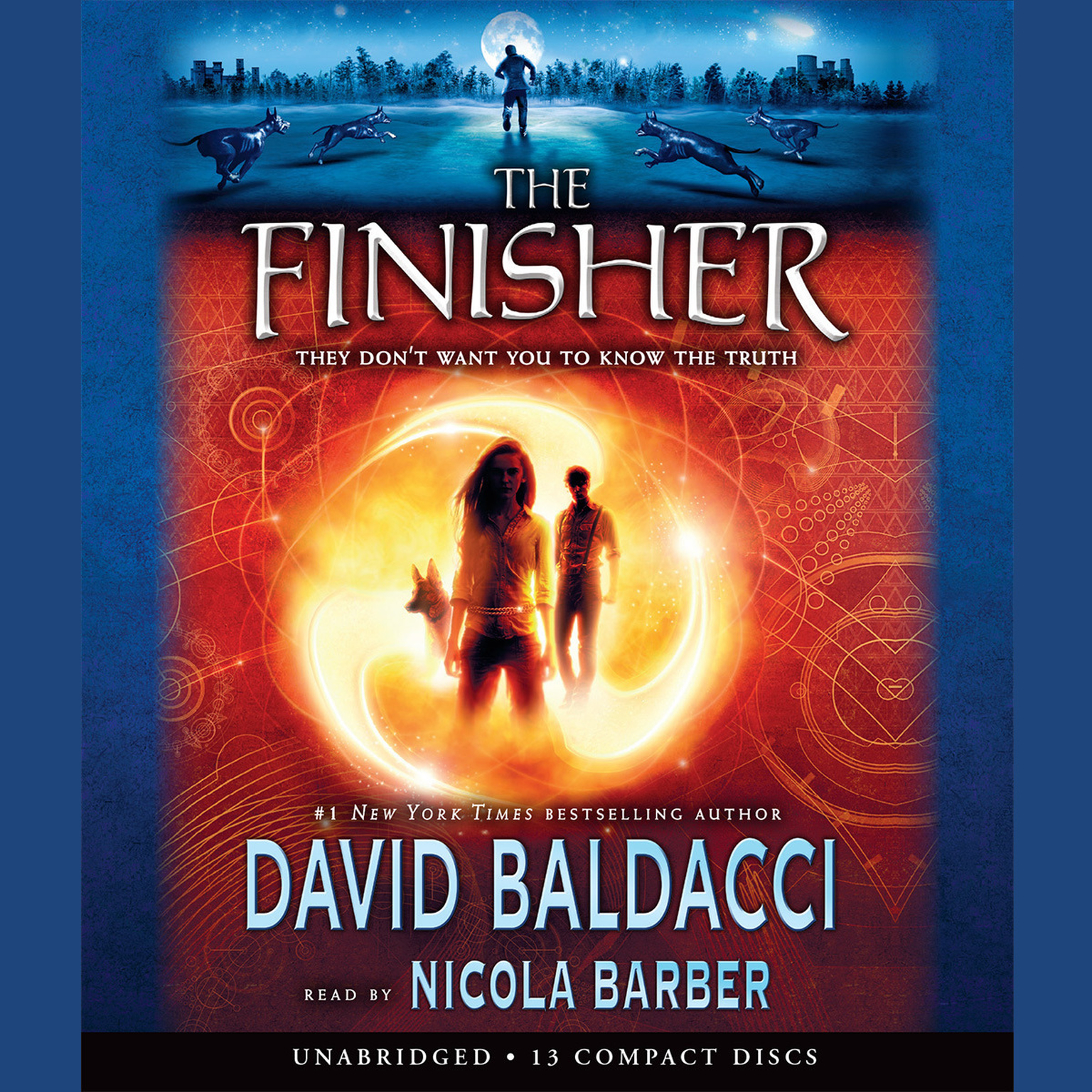 Printable The Finisher Audiobook Cover Art