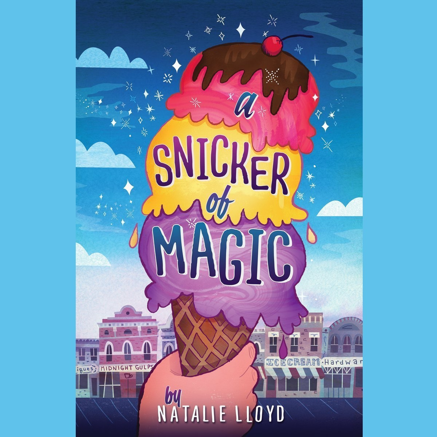 Printable A Snicker of Magic Audiobook Cover Art