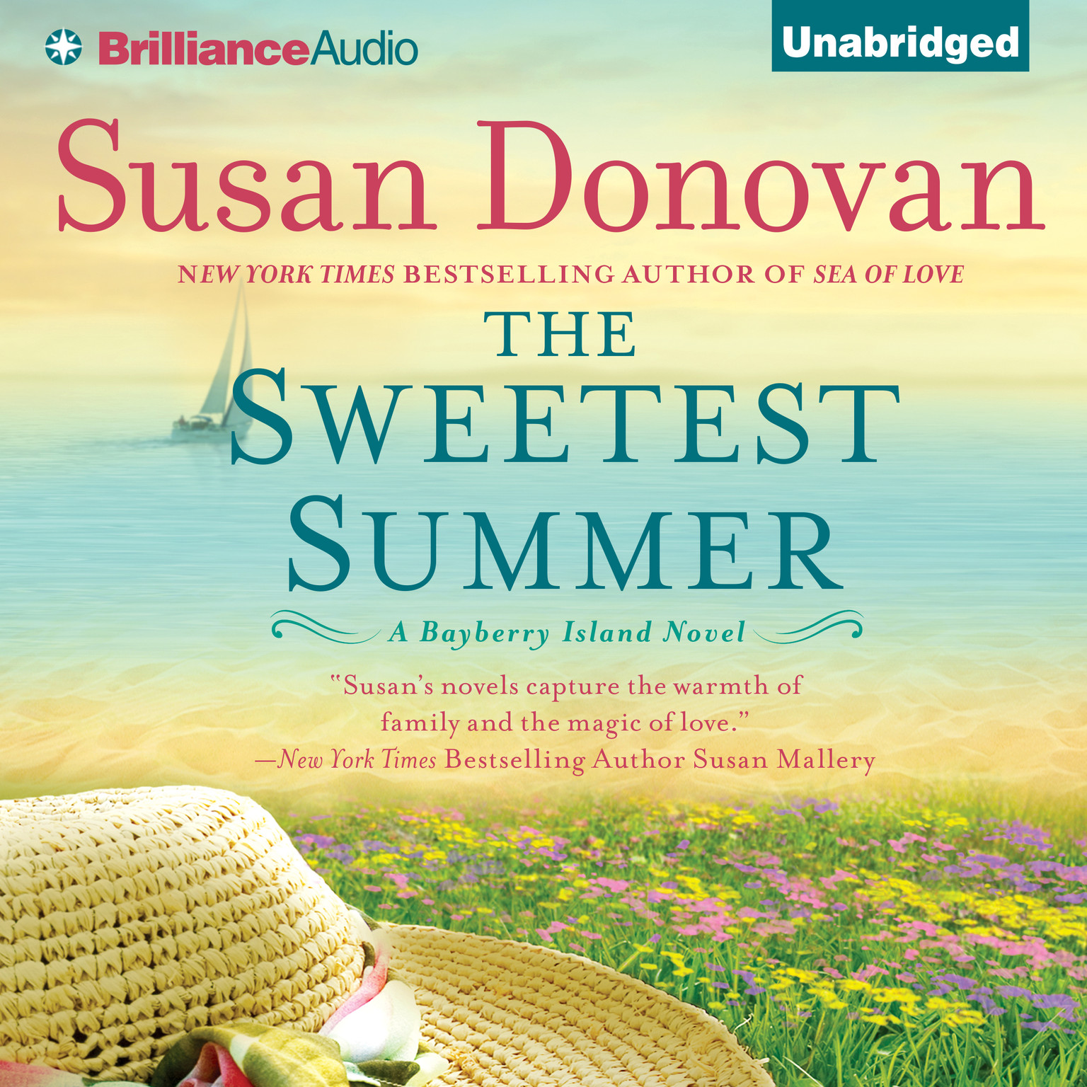 Printable The Sweetest Summer: A Novel Audiobook Cover Art