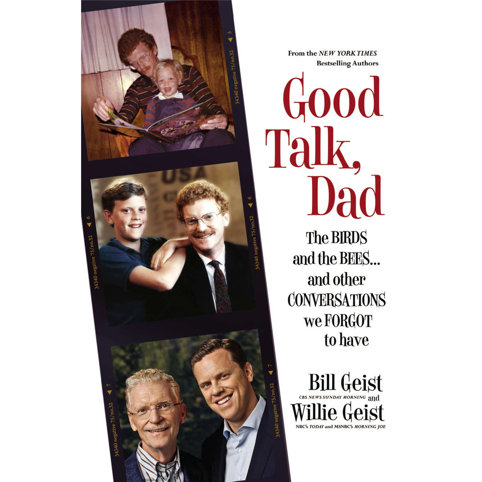 Printable Good Talk, Dad: The Birds and the Bees...and Other Conversations We Forgot to Have Audiobook Cover Art