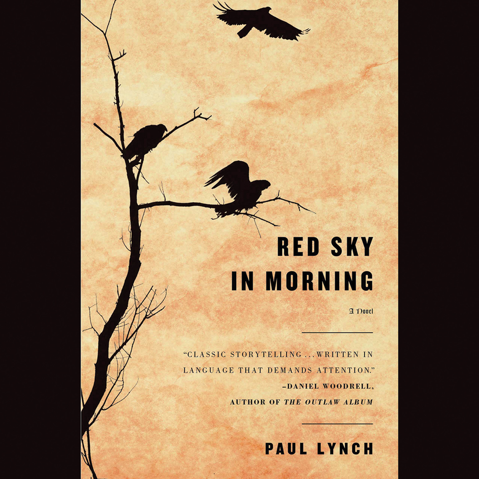 Printable Red Sky in Morning: A Novel Audiobook Cover Art