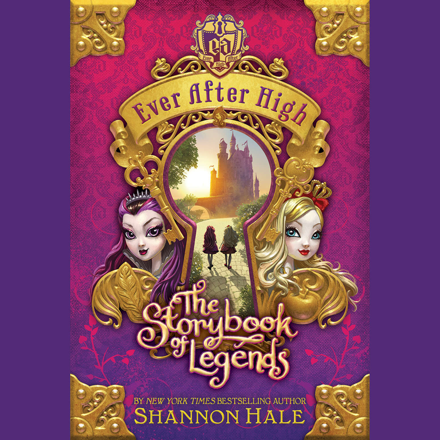 Printable Ever After High: The Storybook of Legends Audiobook Cover Art