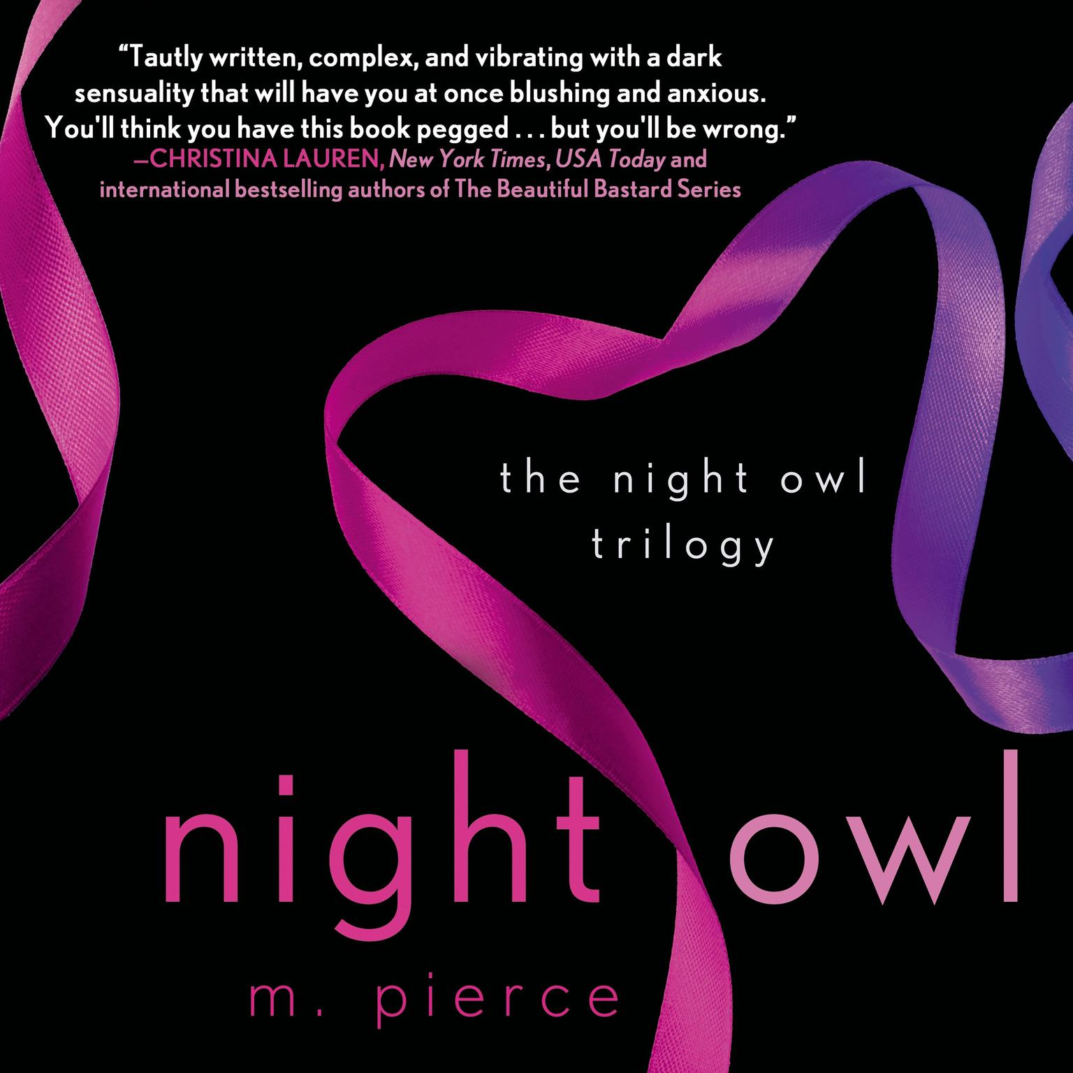 Printable Night Owl: The Night Owl Trilogy Audiobook Cover Art