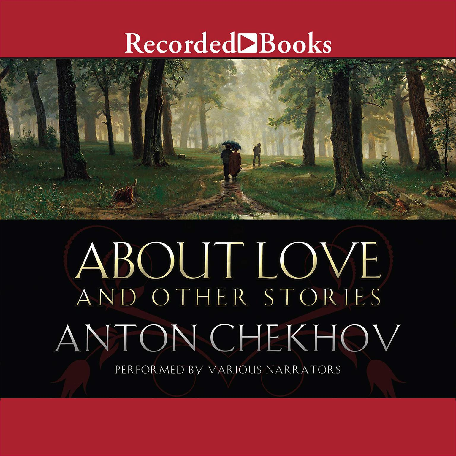 Printable About Love and Other Stories Audiobook Cover Art