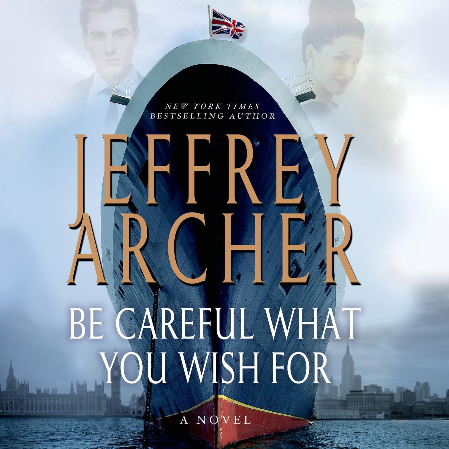 Printable Be Careful What You Wish For: A Novel Audiobook Cover Art