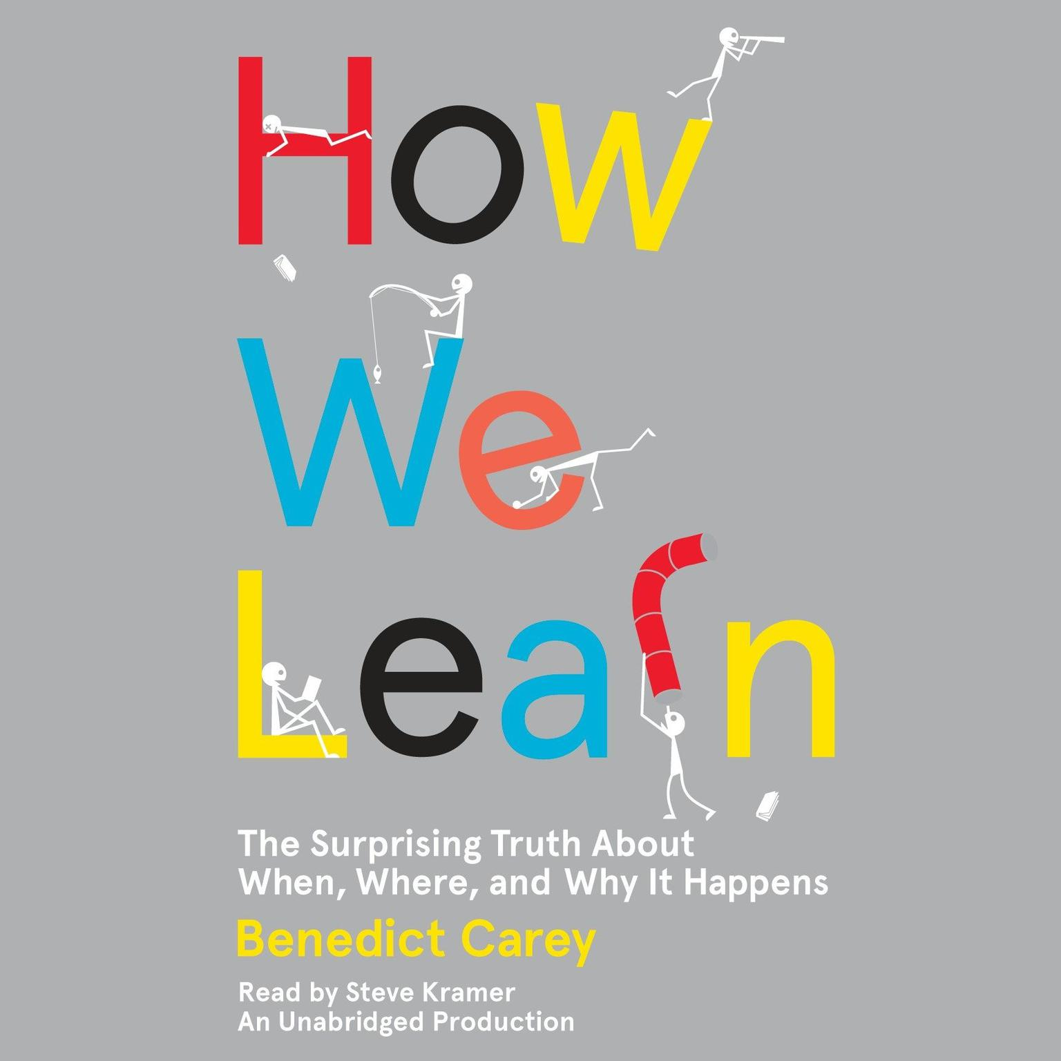 Printable How We Learn: The Surprising Truth About When, Where, and Why It Happens Audiobook Cover Art