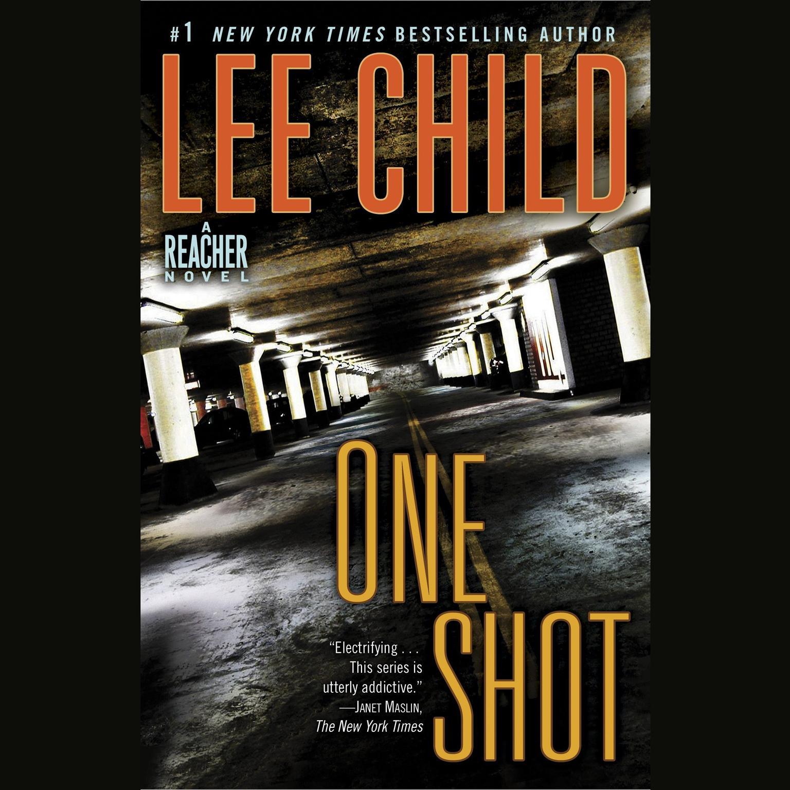 Printable One Shot: A Jack Reacher Novel Audiobook Cover Art