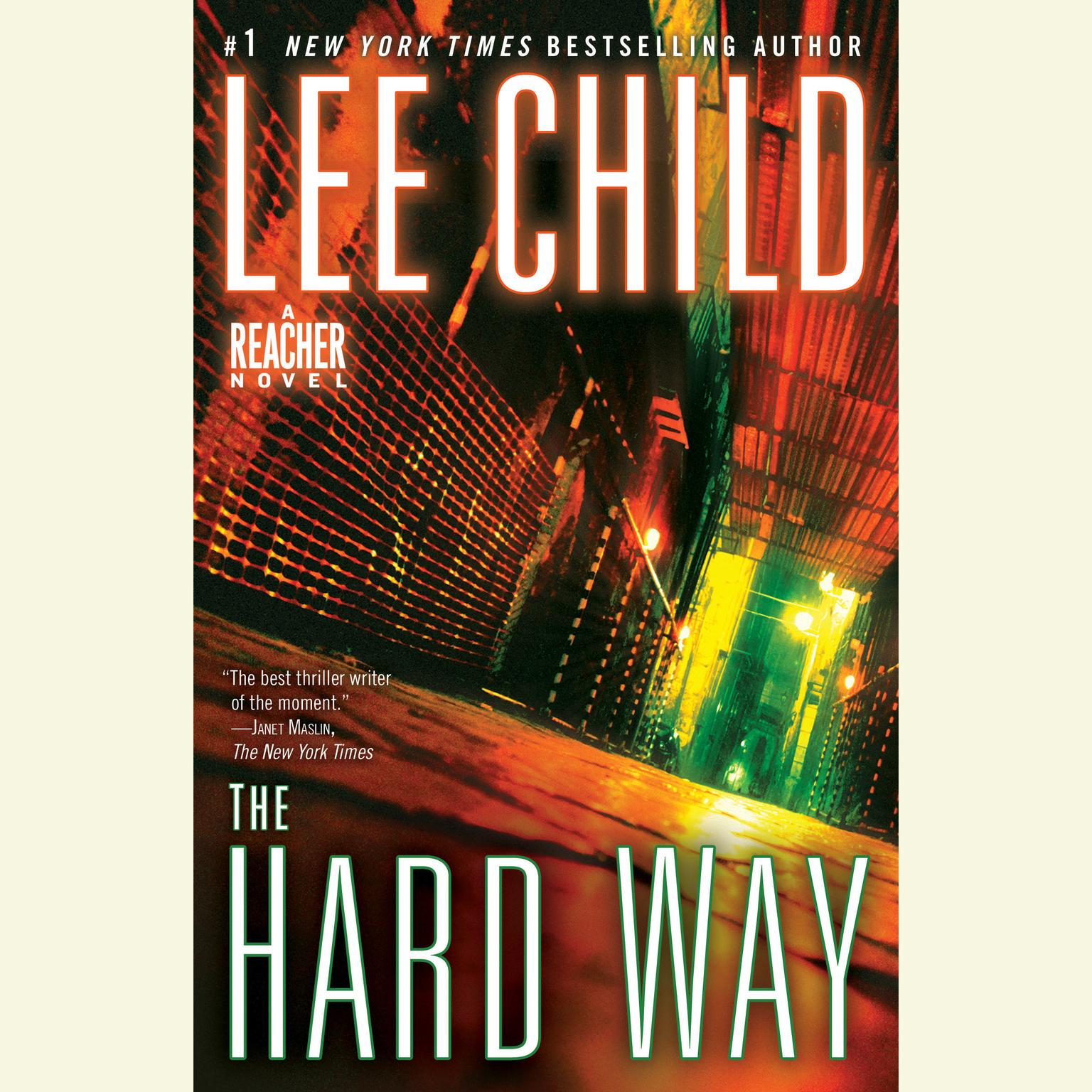 Printable The Hard Way: A Jack Reacher Novel Audiobook Cover Art