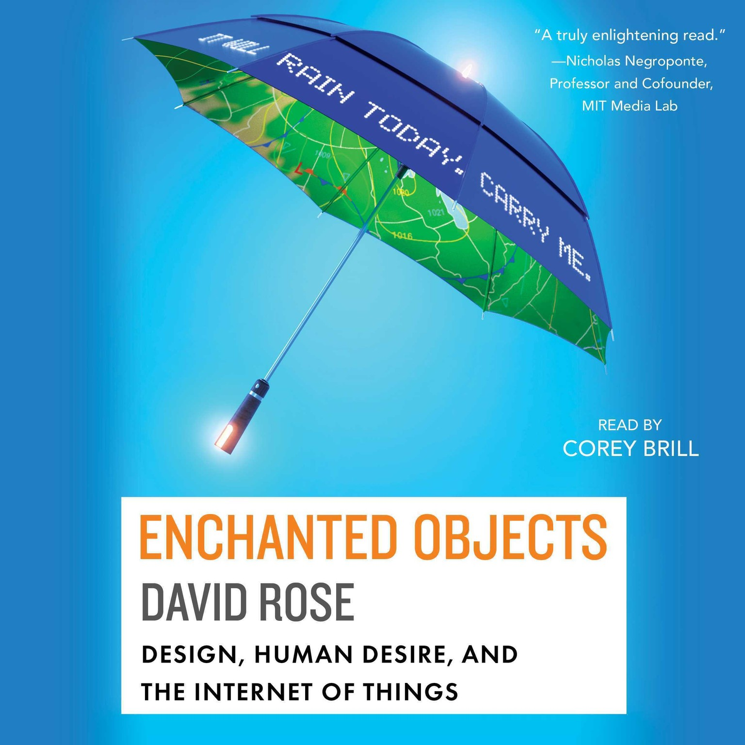Printable Enchanted Objects: Design, Human Desire, and the Internet of Things Audiobook Cover Art