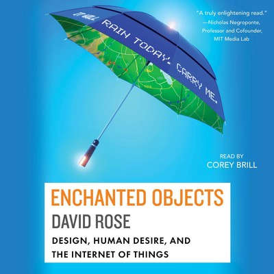 Enchanted Objects: Design, Human Desire, and the Internet of Things Audiobook, by David Rose