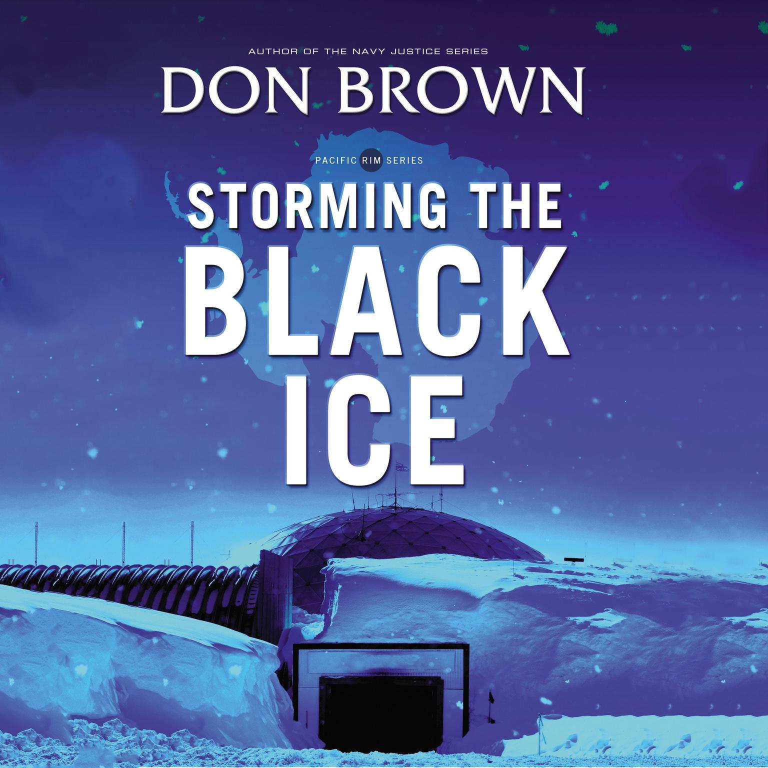 Printable Storming the Black Ice Audiobook Cover Art