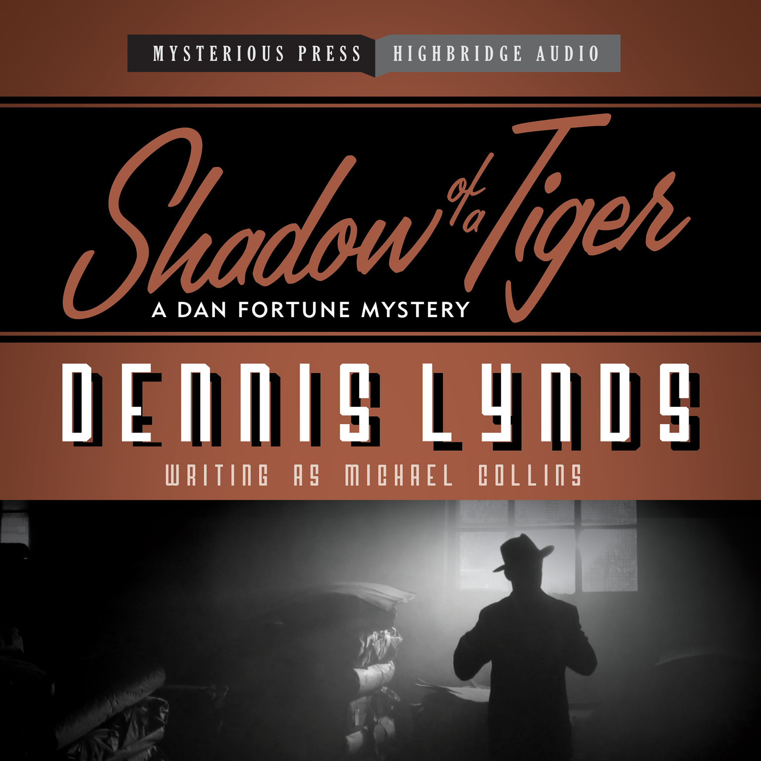 Printable Shadow of a Tiger Audiobook Cover Art