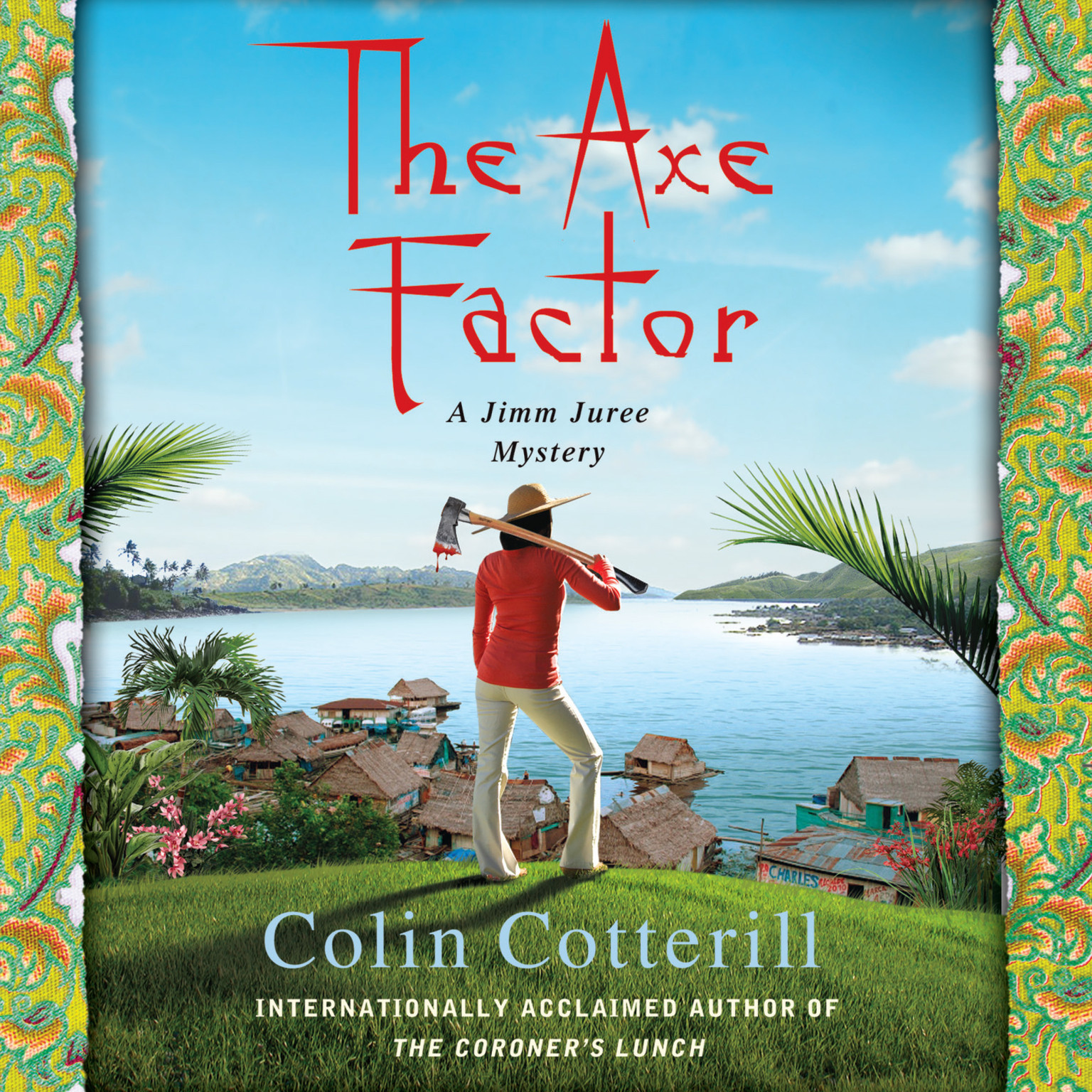 Printable The Axe Factor Audiobook Cover Art