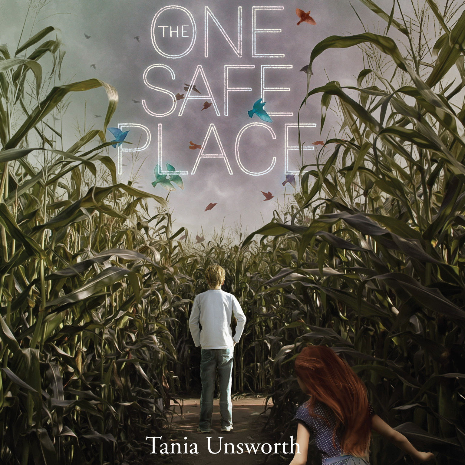 Printable The One Safe Place Audiobook Cover Art