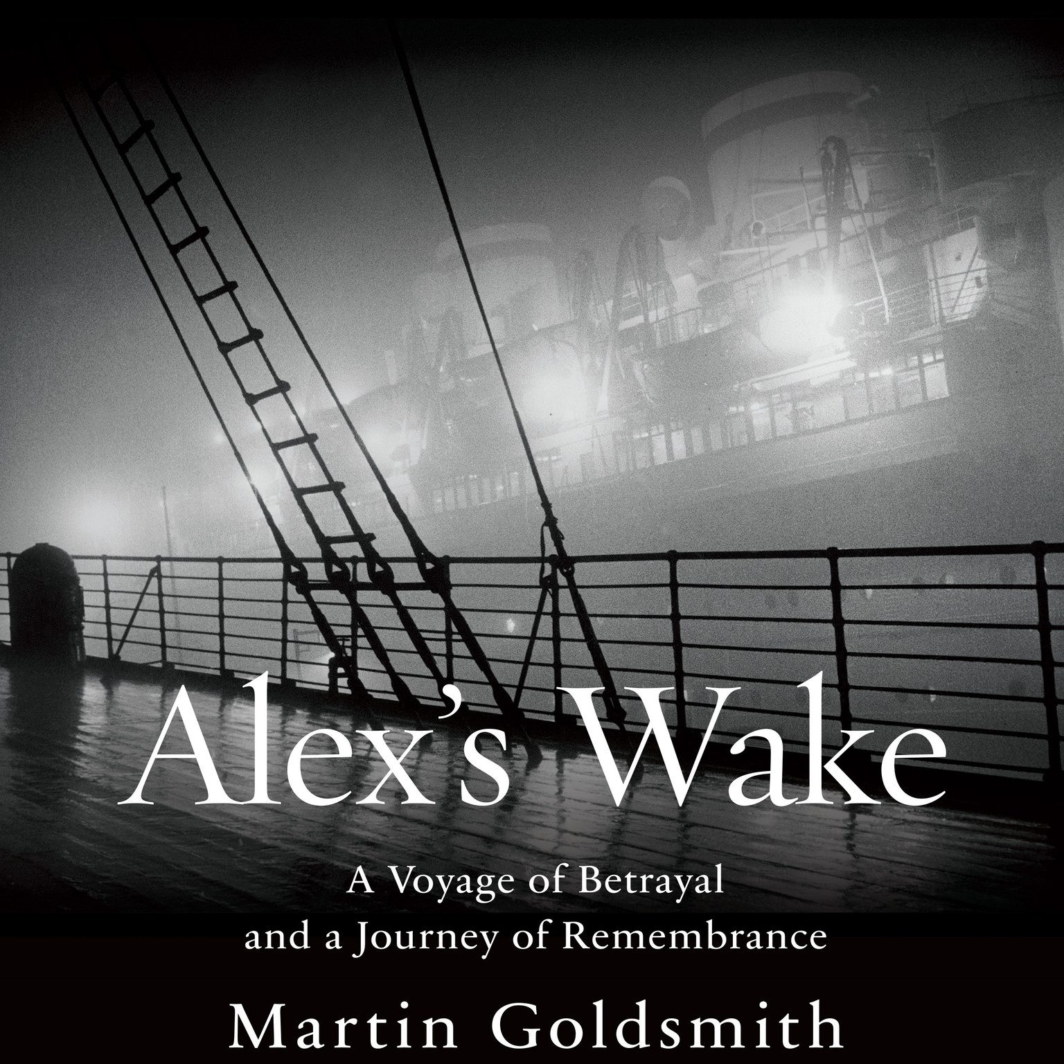 Printable Alex's Wake: A Voyage of Betrayal and a Journey of Remembrance Audiobook Cover Art