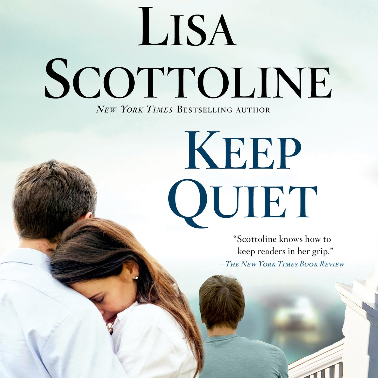 Printable Keep Quiet Audiobook Cover Art