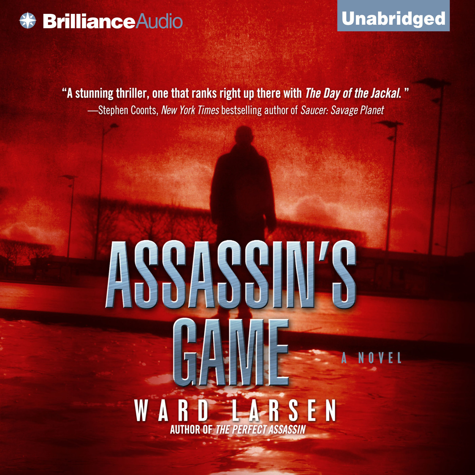 Printable Assassin's Game Audiobook Cover Art