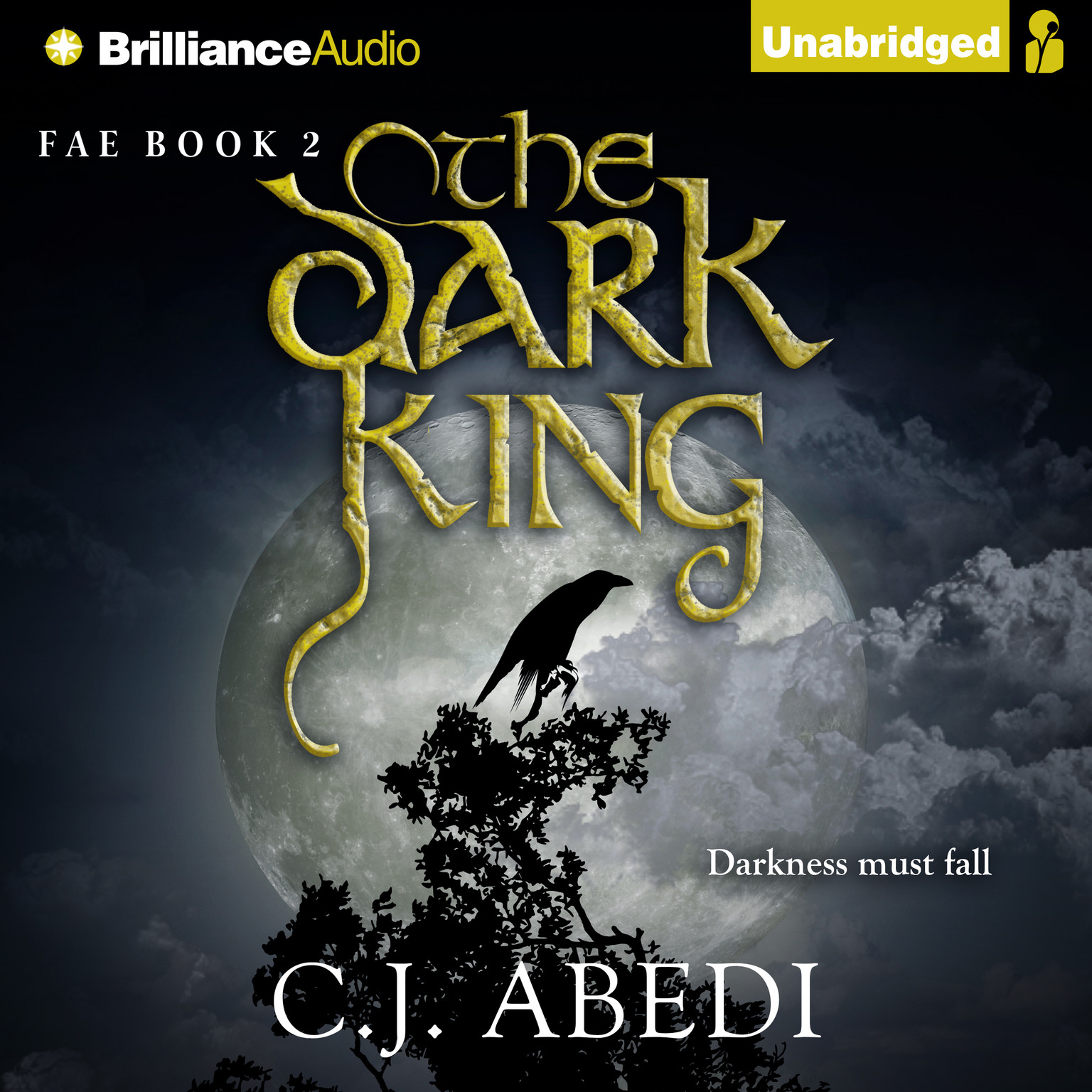 Printable The Dark King Audiobook Cover Art