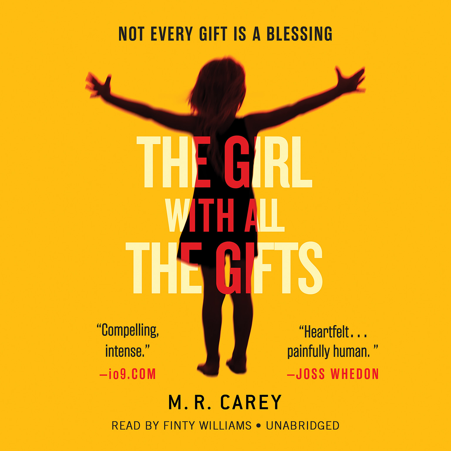 Printable The Girl With All the Gifts Audiobook Cover Art