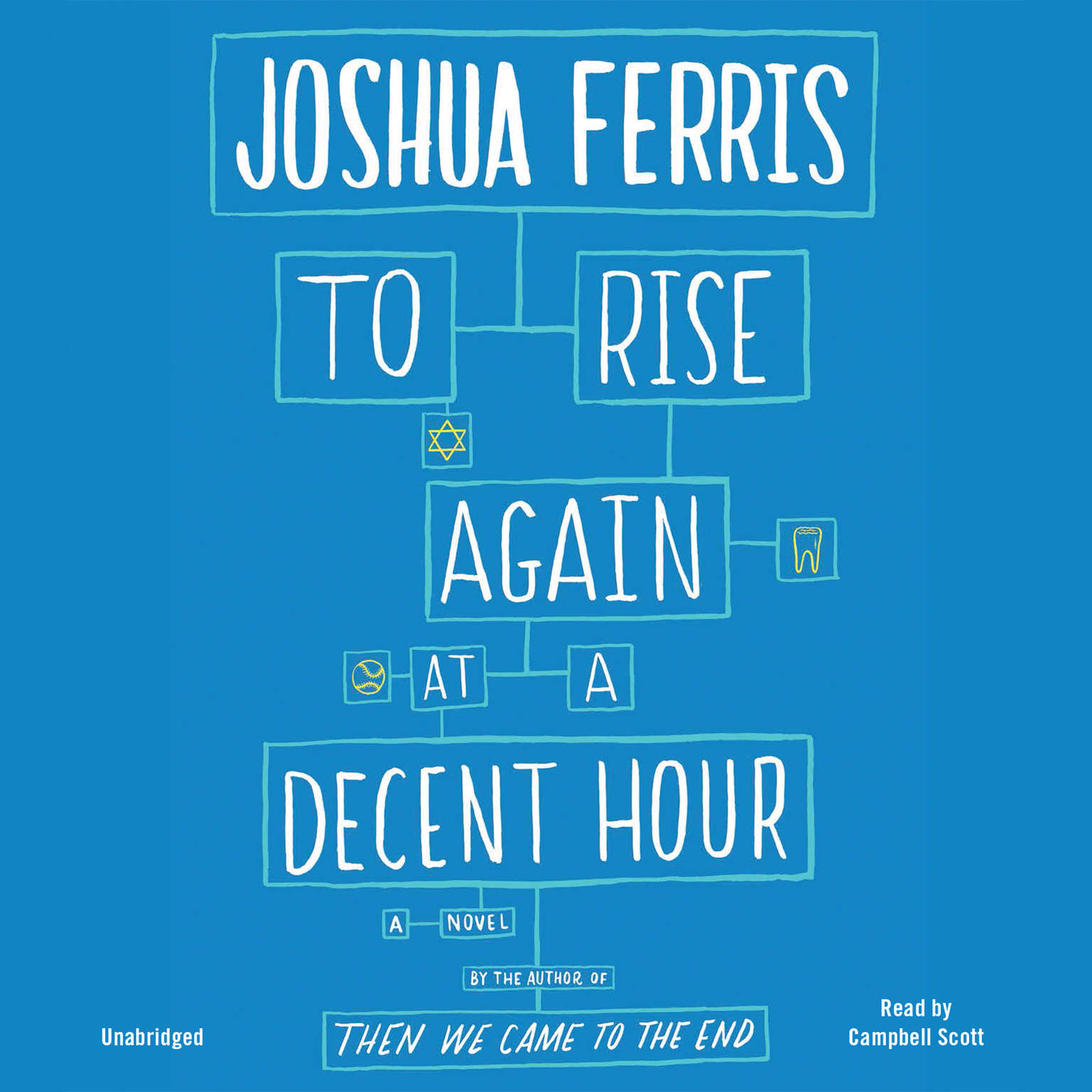 Printable To Rise Again at a Decent Hour: A Novel Audiobook Cover Art