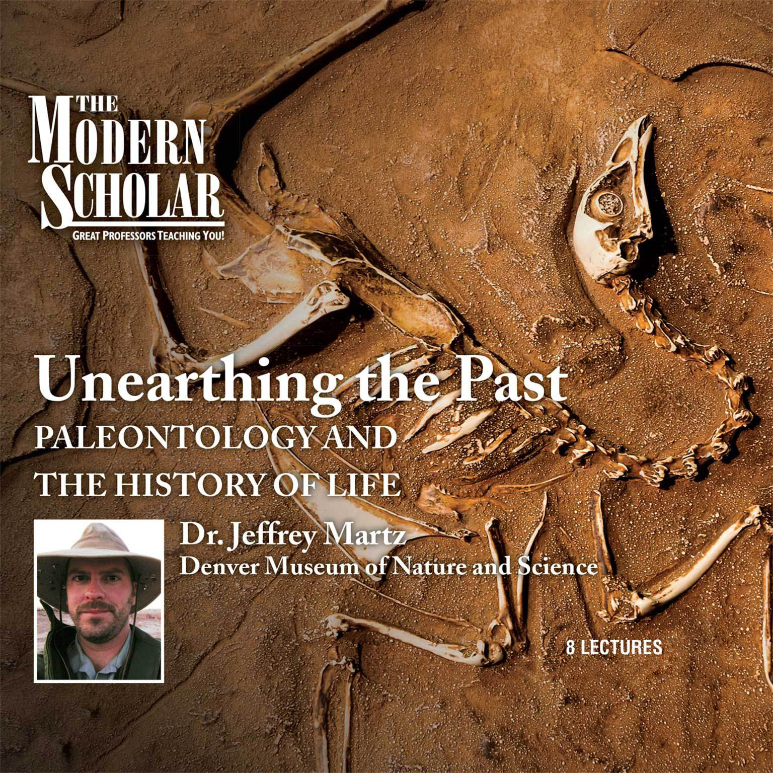 Printable Unearthing the Past: Paleontology and the History of Life Audiobook Cover Art
