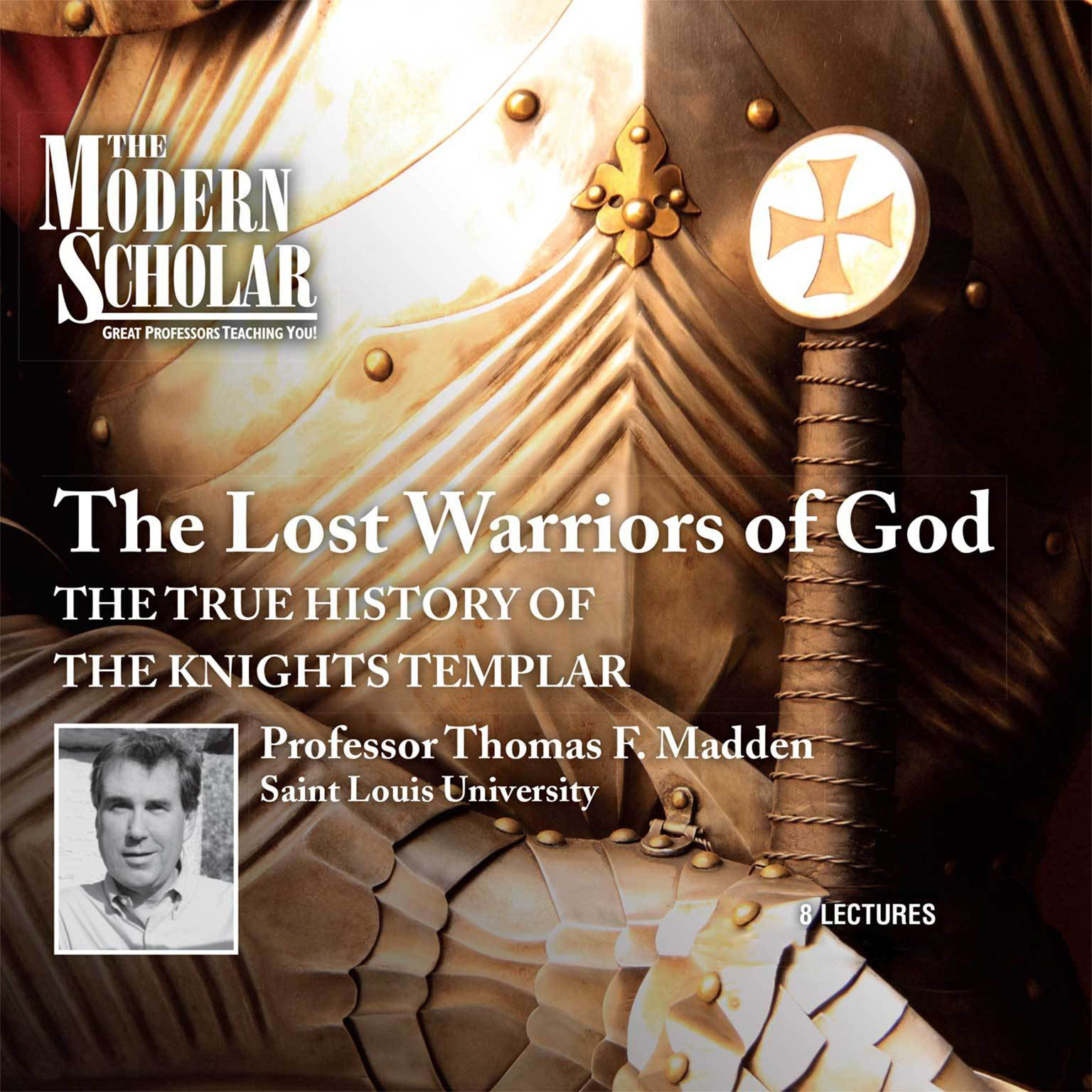 Printable The Lost Warriors of God: The True History of the Knights Templar Audiobook Cover Art