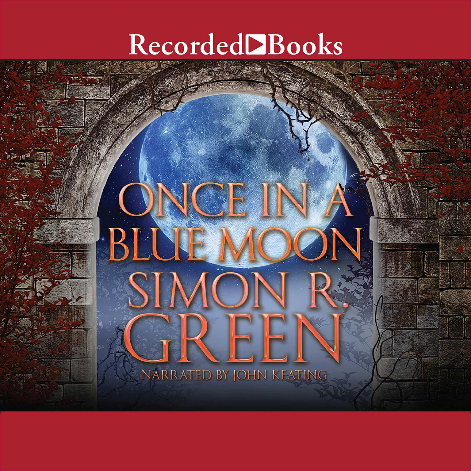 Printable Once in a Blue Moon Audiobook Cover Art