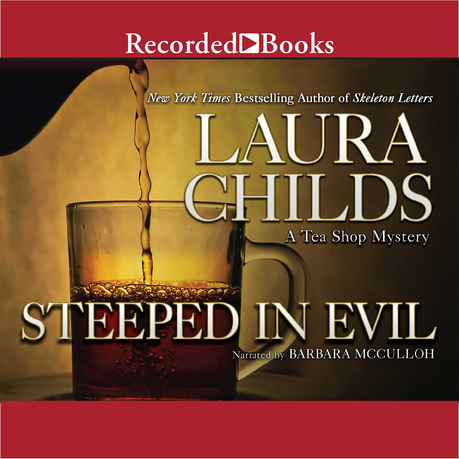 Printable Steeped in Evil Audiobook Cover Art