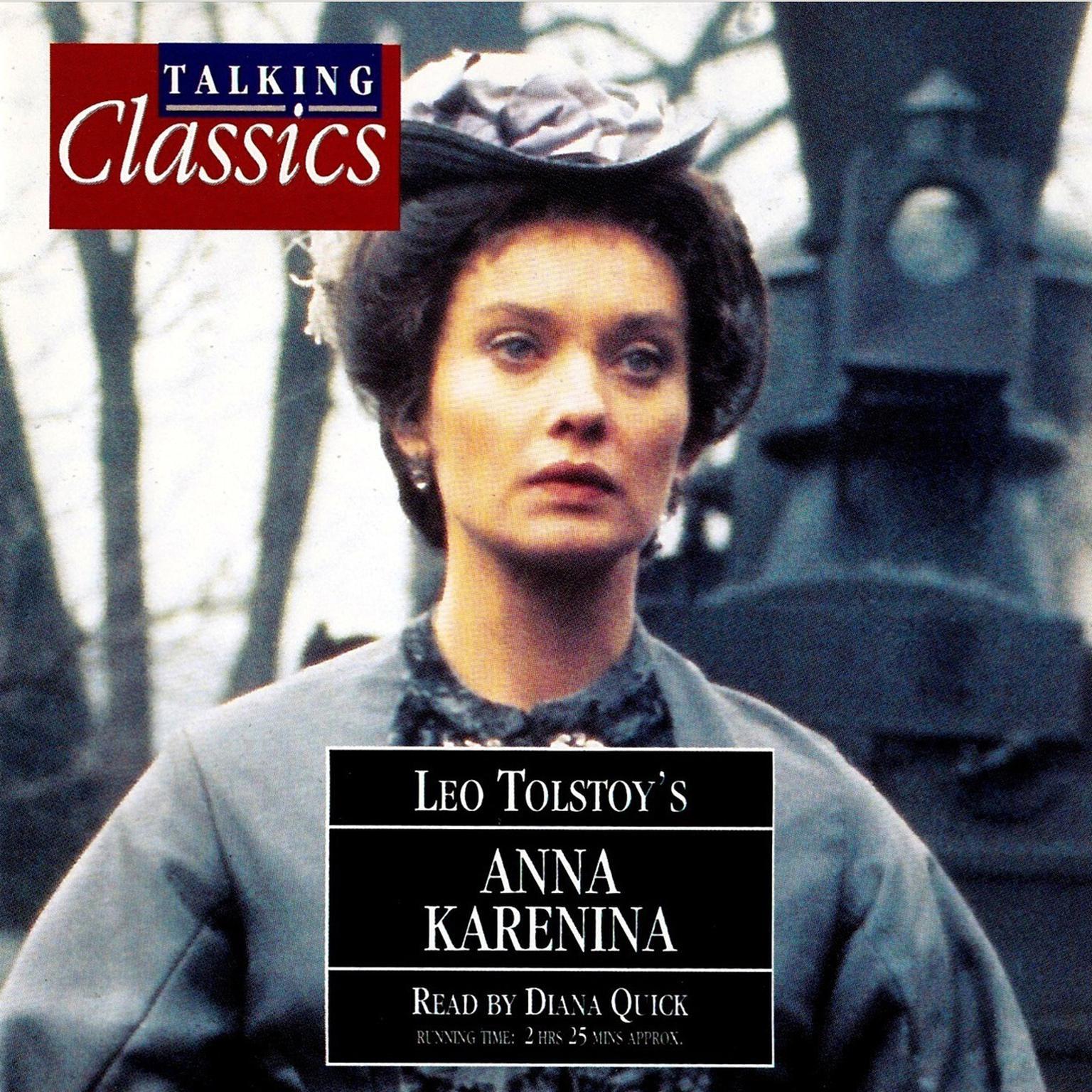 Printable Anna Karenina Audiobook Cover Art
