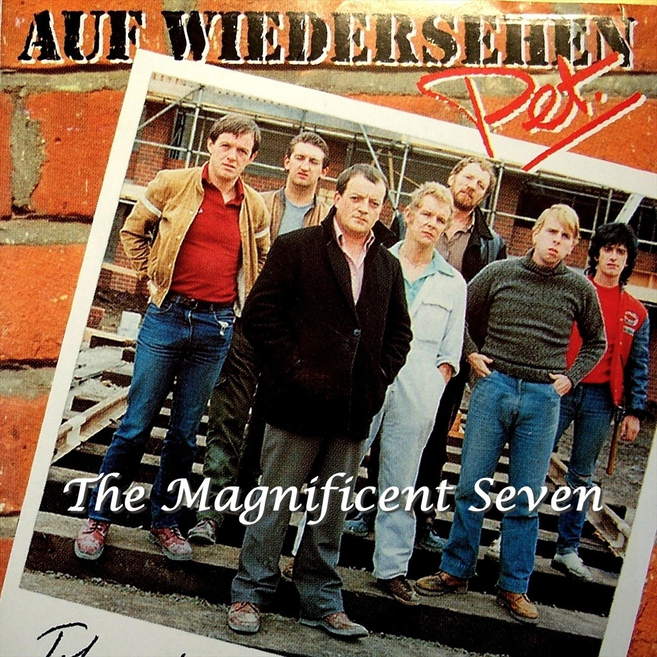 Printable Auf Wiedersehen Pet: The Magnificent Seven Audiobook Cover Art