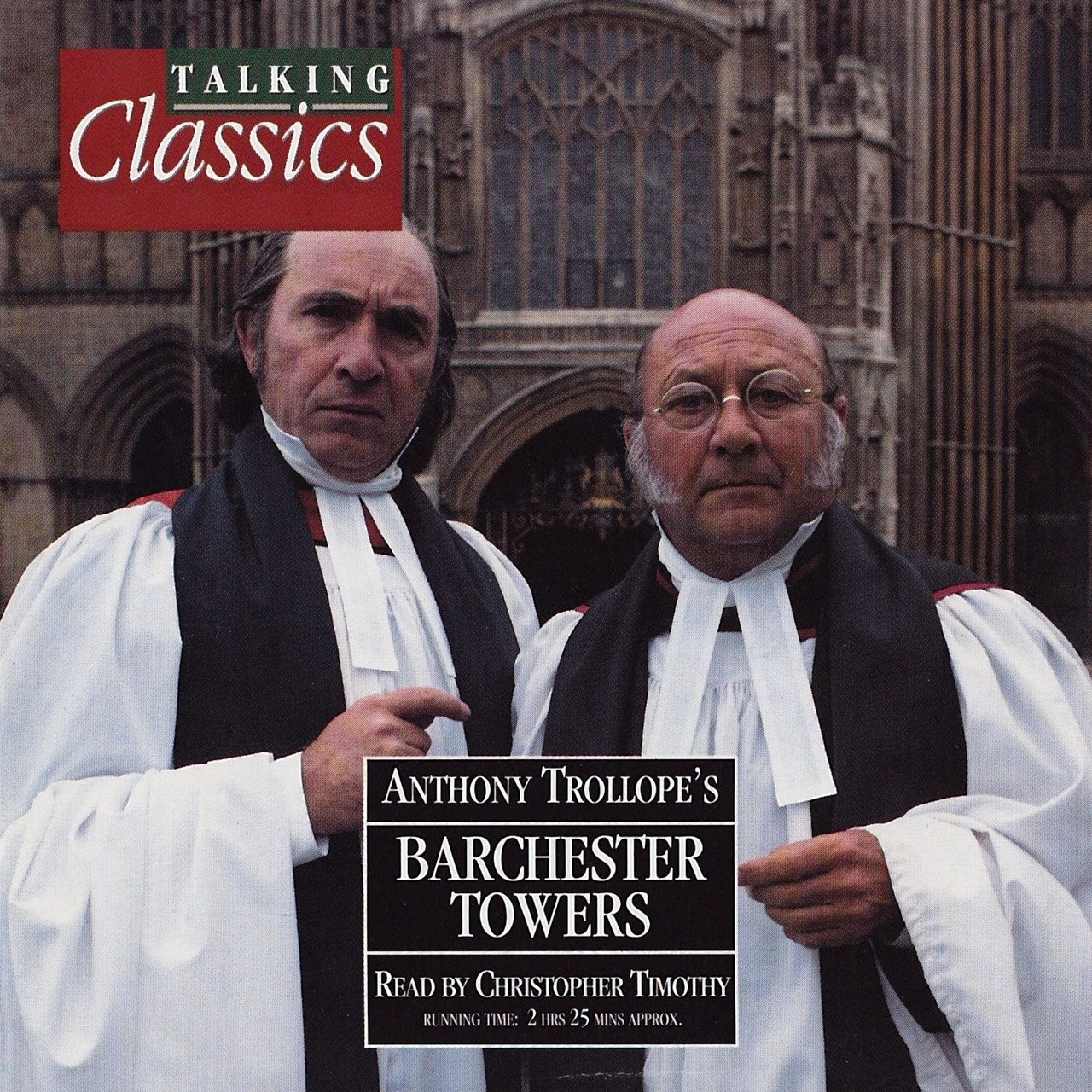 Printable Barchester Towers Audiobook Cover Art