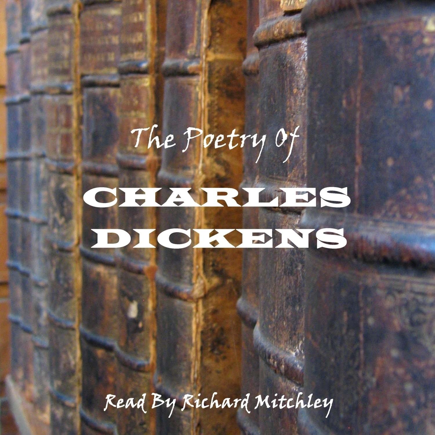 Printable Charles Dickens: The Poetry Audiobook Cover Art