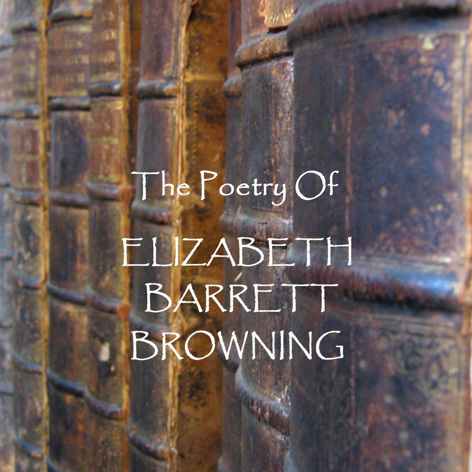 Printable The Poetry of Elizabeth Barrett Browning Audiobook Cover Art