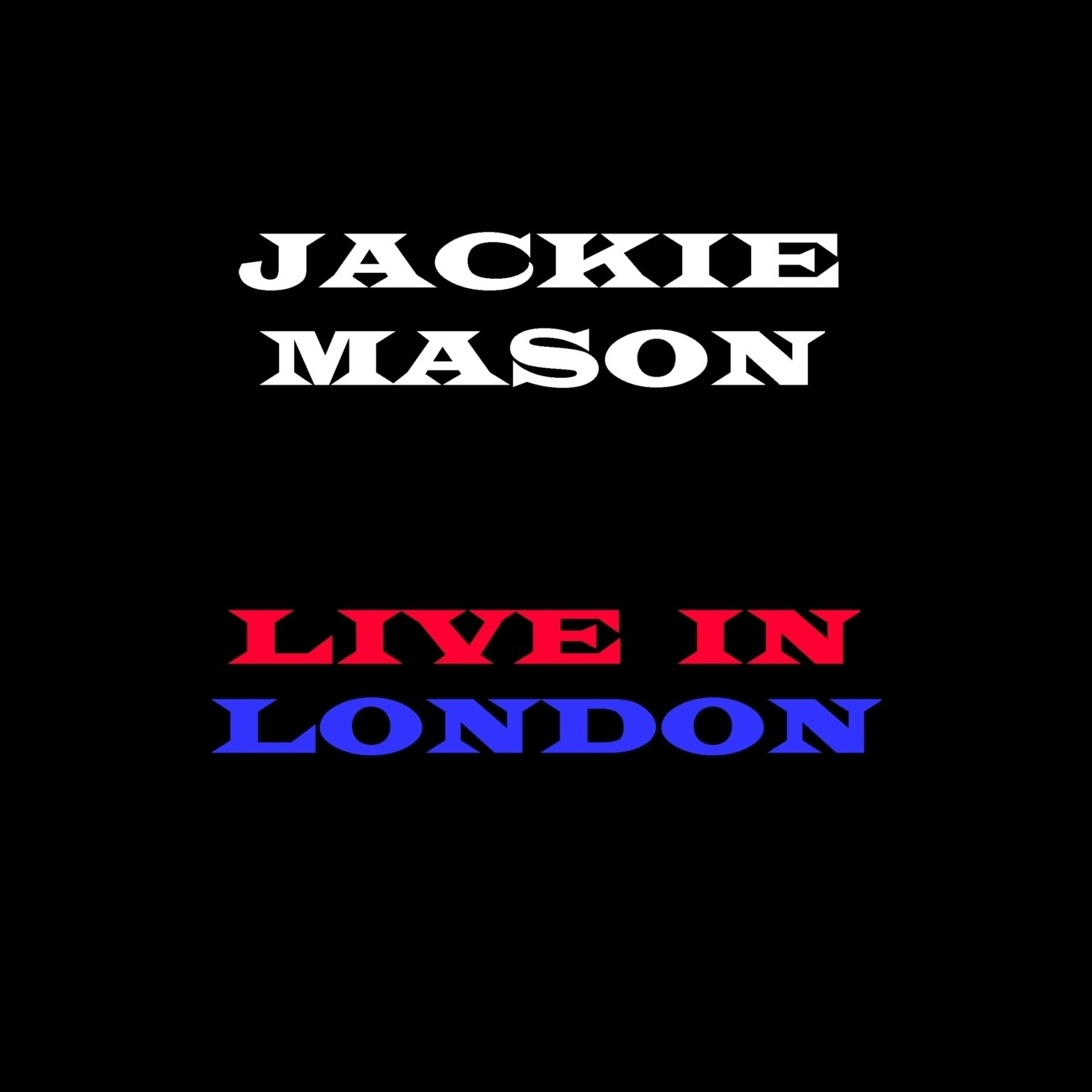 Printable Jackie Mason: Live In London Audiobook Cover Art