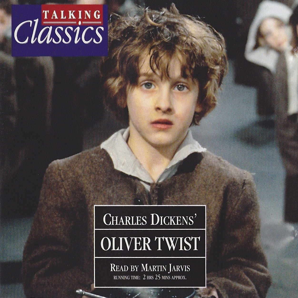 Printable Oliver Twist Audiobook Cover Art