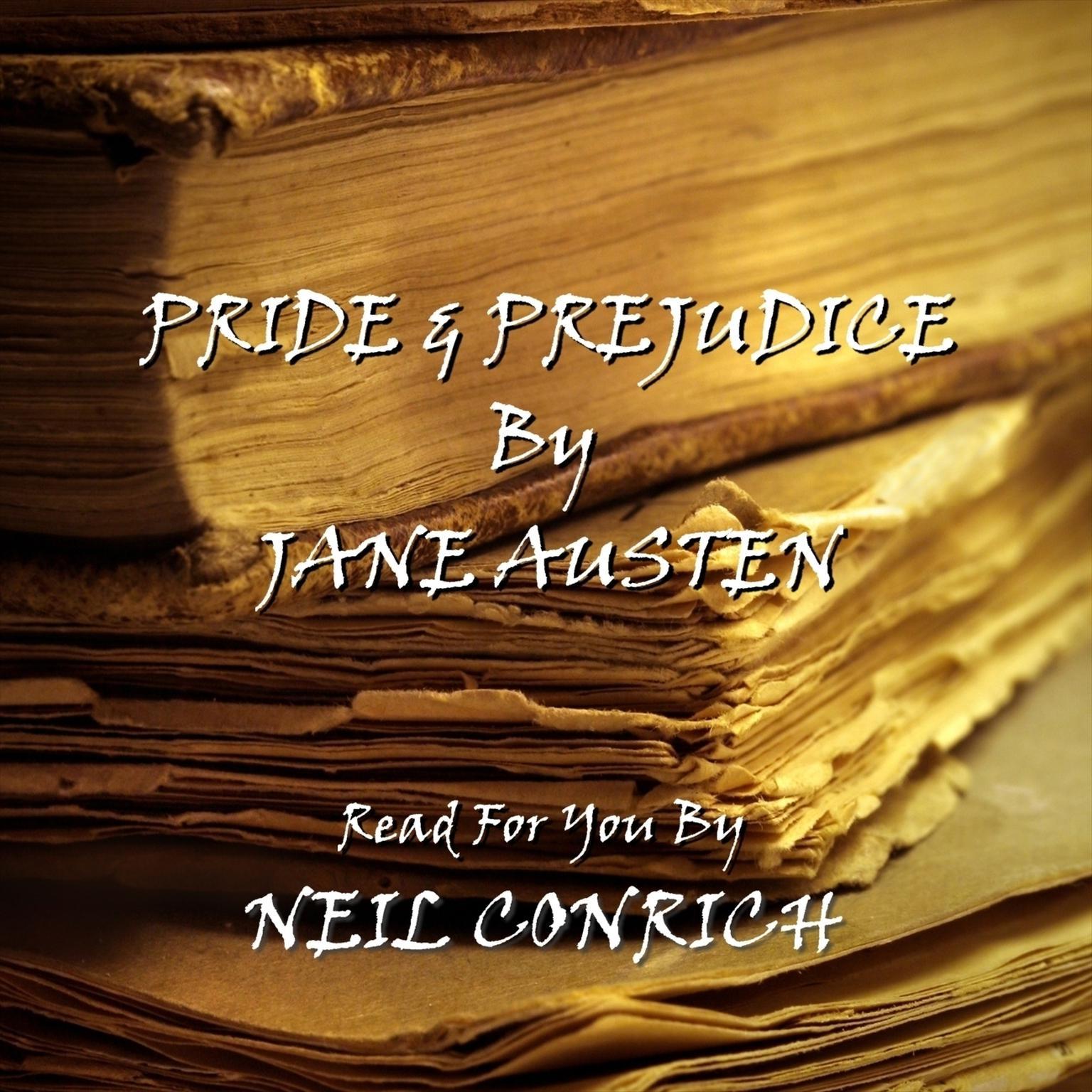 Printable Pride and Prejudice Audiobook Cover Art