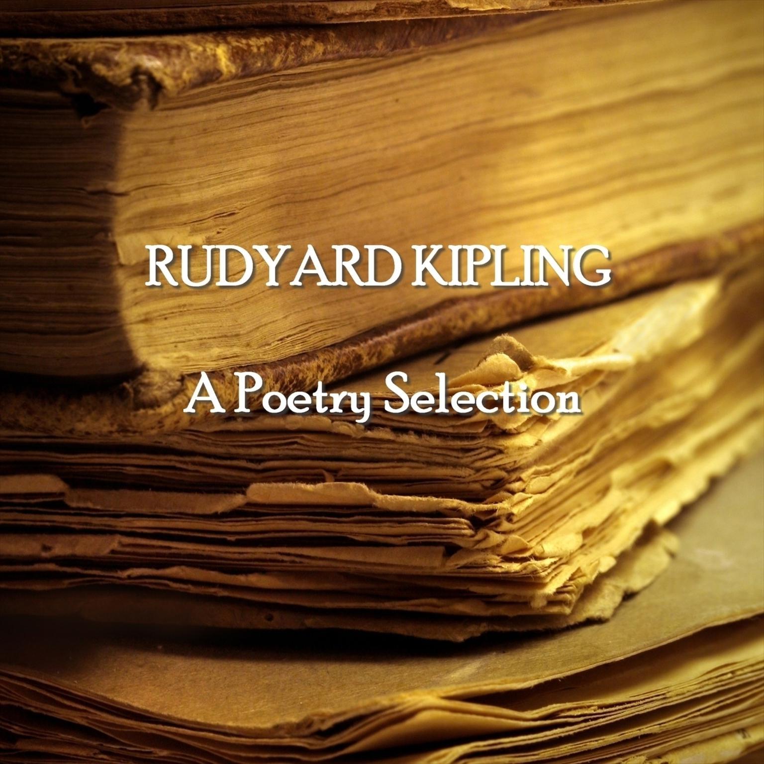 Printable Rudyard Kipling: A Poetry Selection Audiobook Cover Art