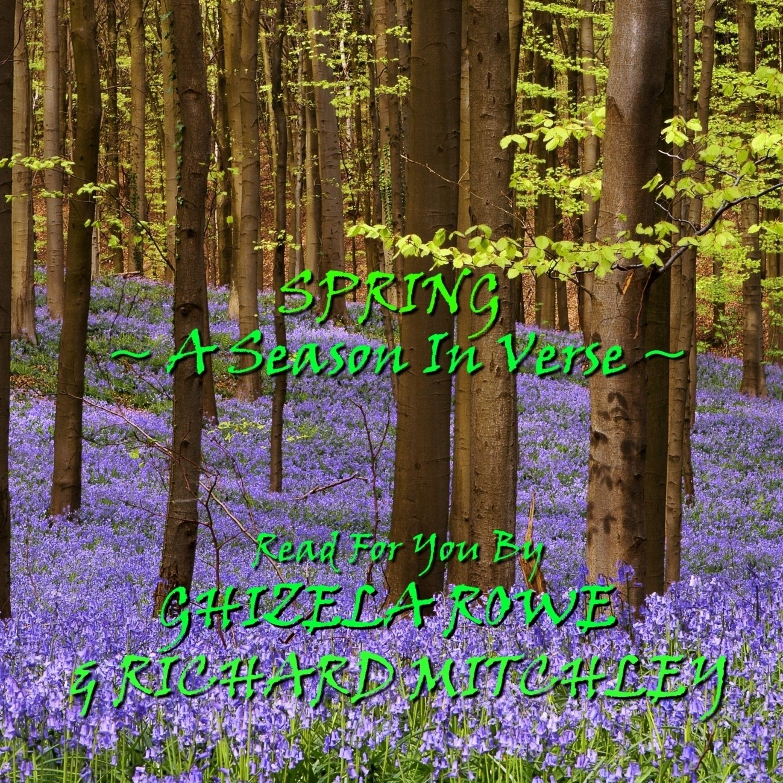 Printable Spring: A Season in Verse Audiobook Cover Art