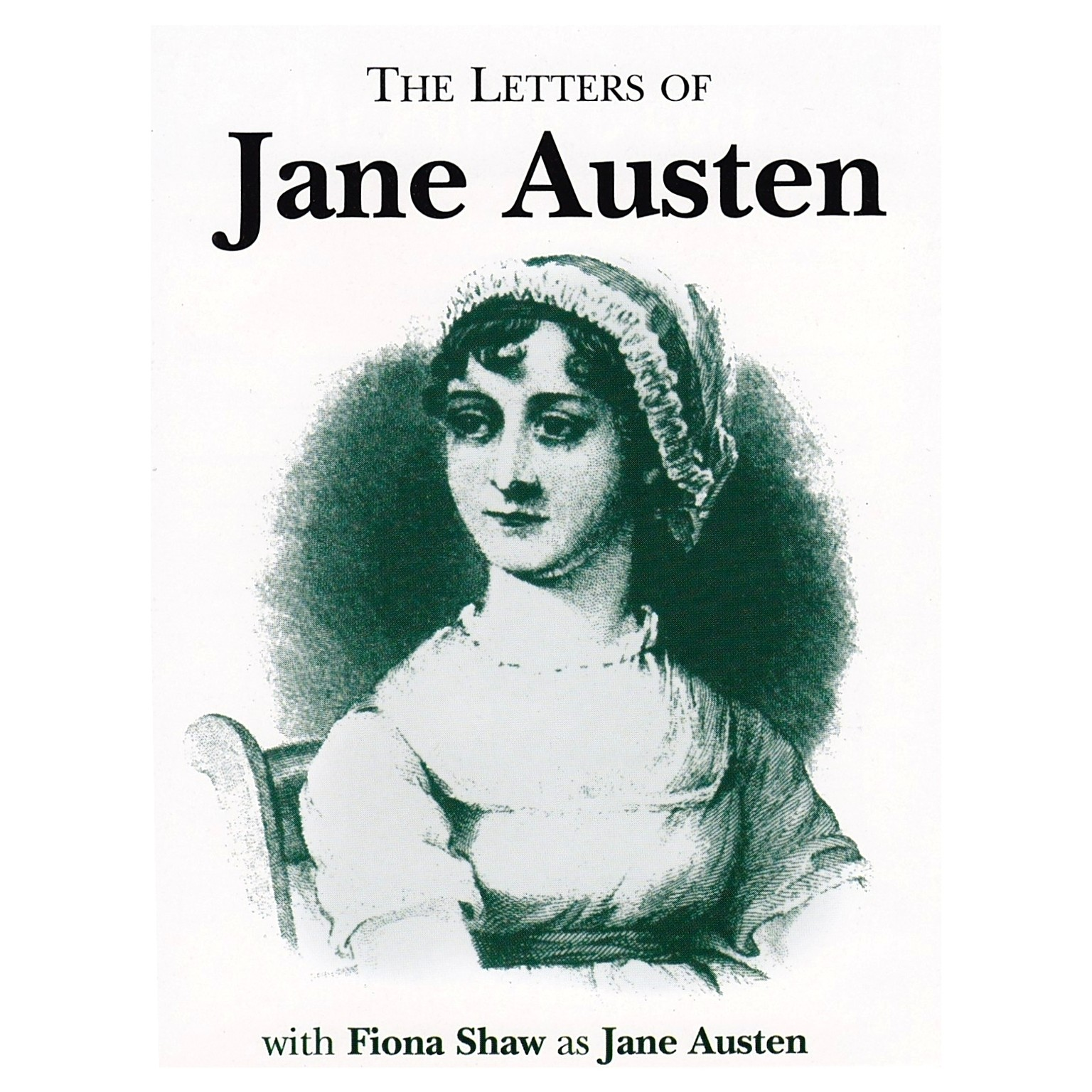 Printable The Letters of Jane Austen Audiobook Cover Art