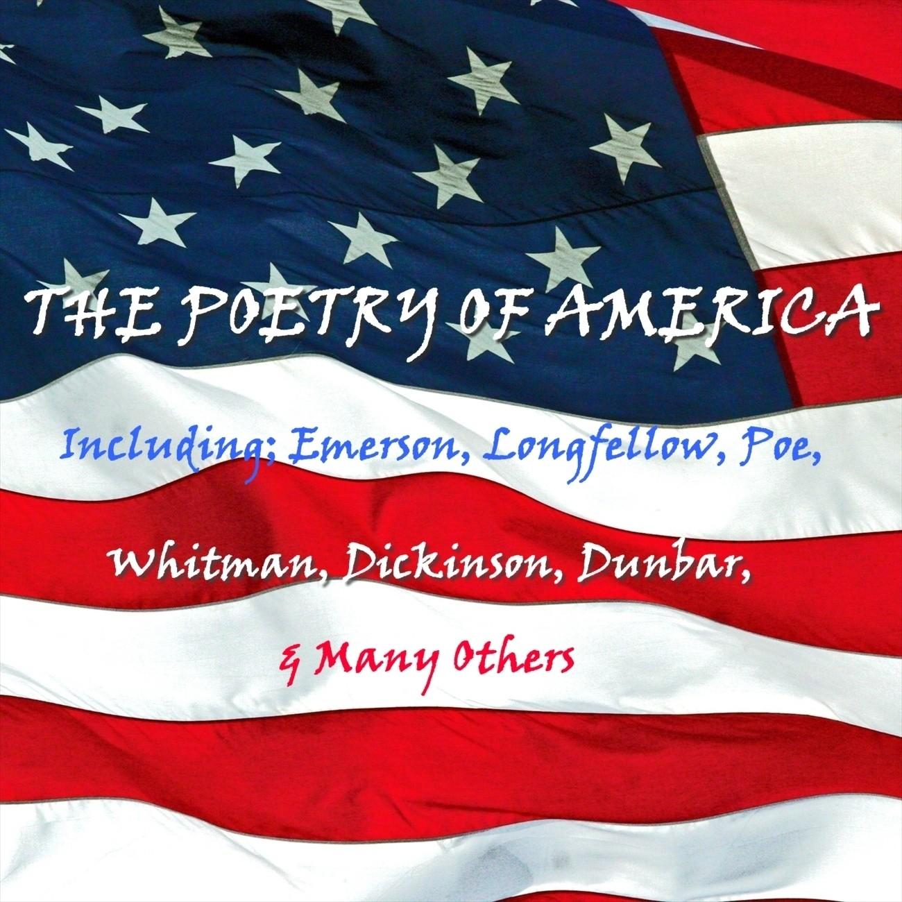 Printable The Poetry of America Audiobook Cover Art