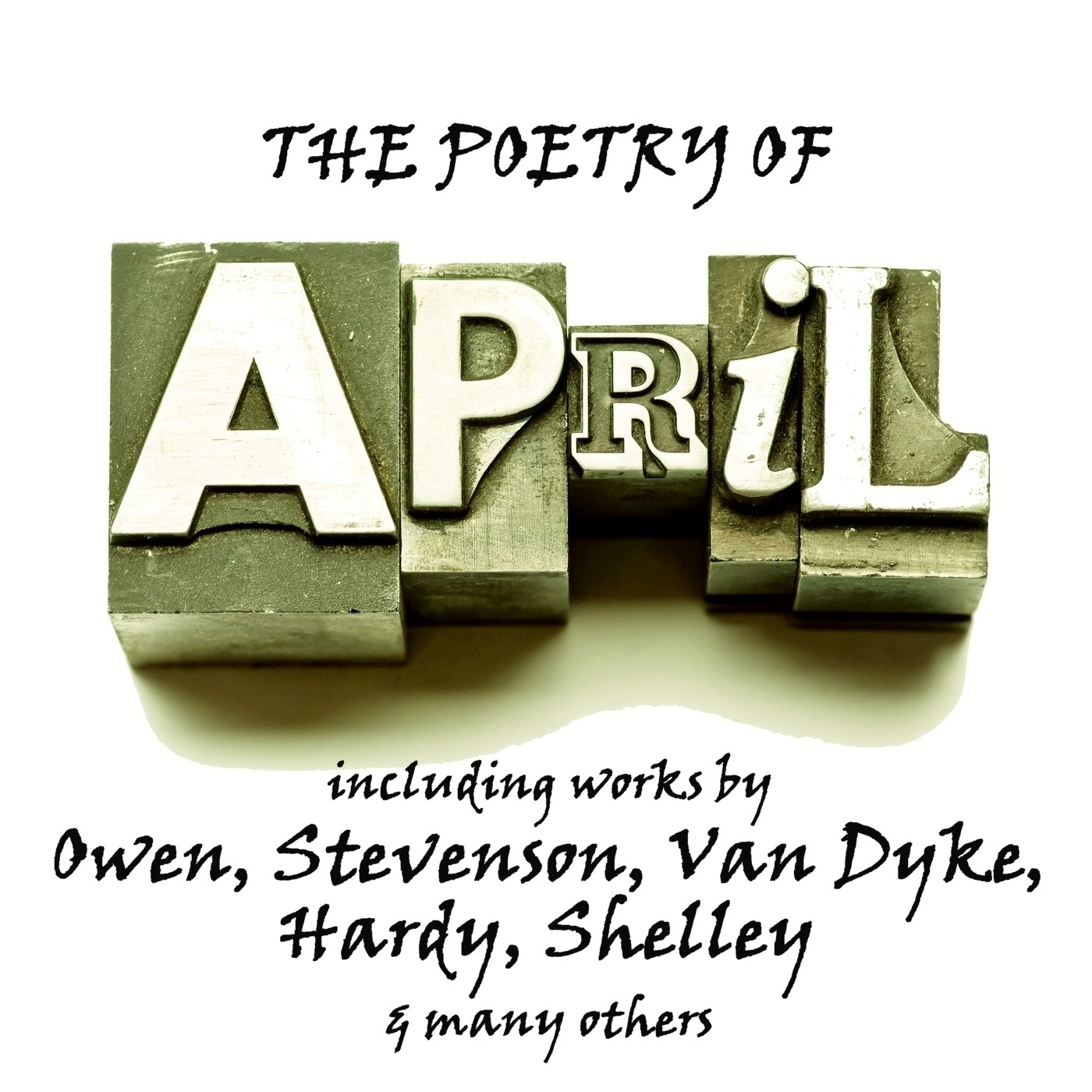 Printable The Poetry of April: A Month in Verse Audiobook Cover Art