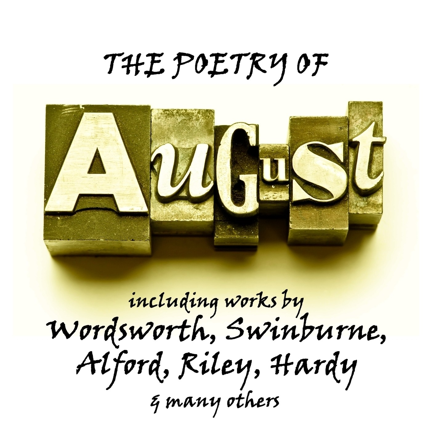 Printable The Poetry of August: A Month in Verse Audiobook Cover Art