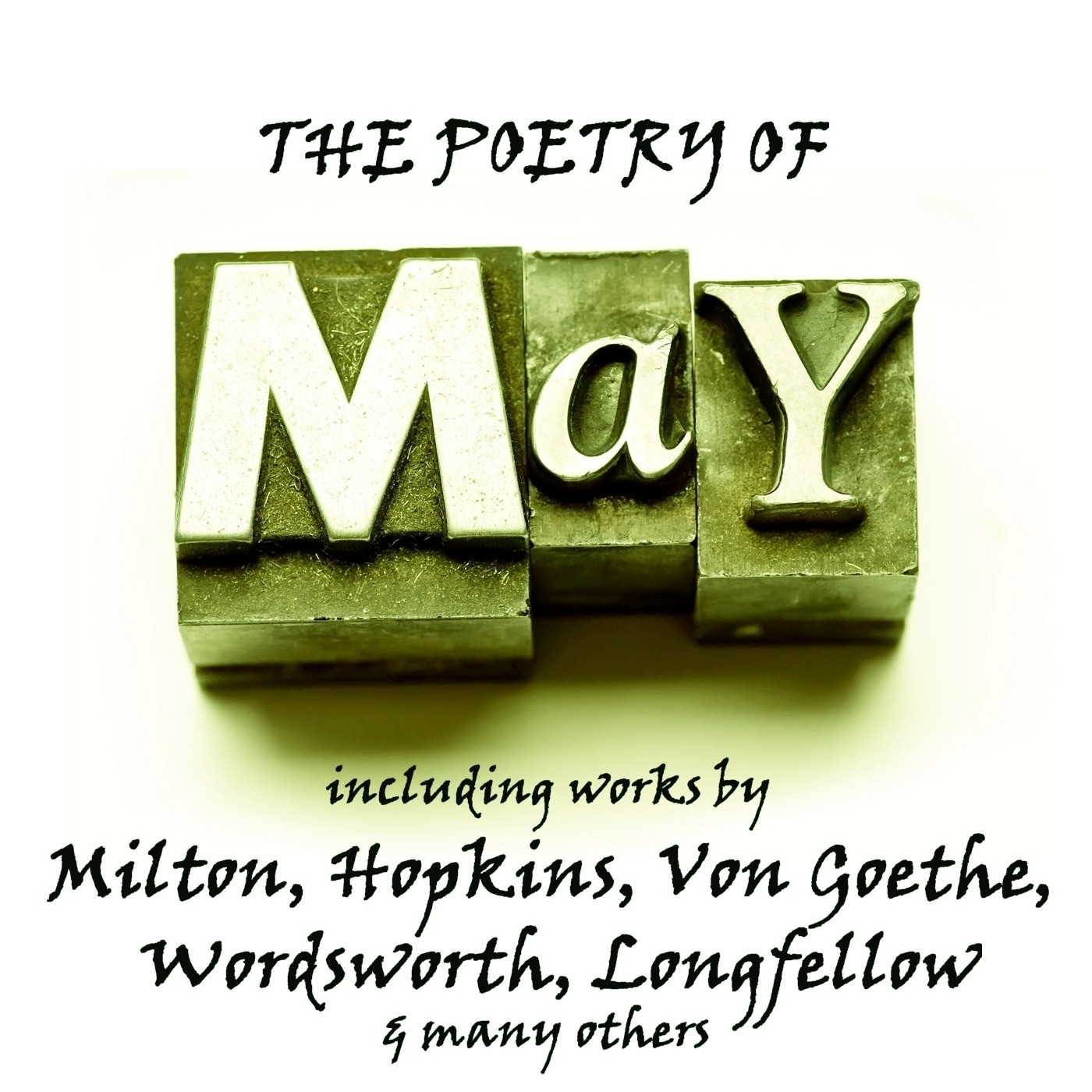 Printable The Poetry of May: A Month in Verse Audiobook Cover Art