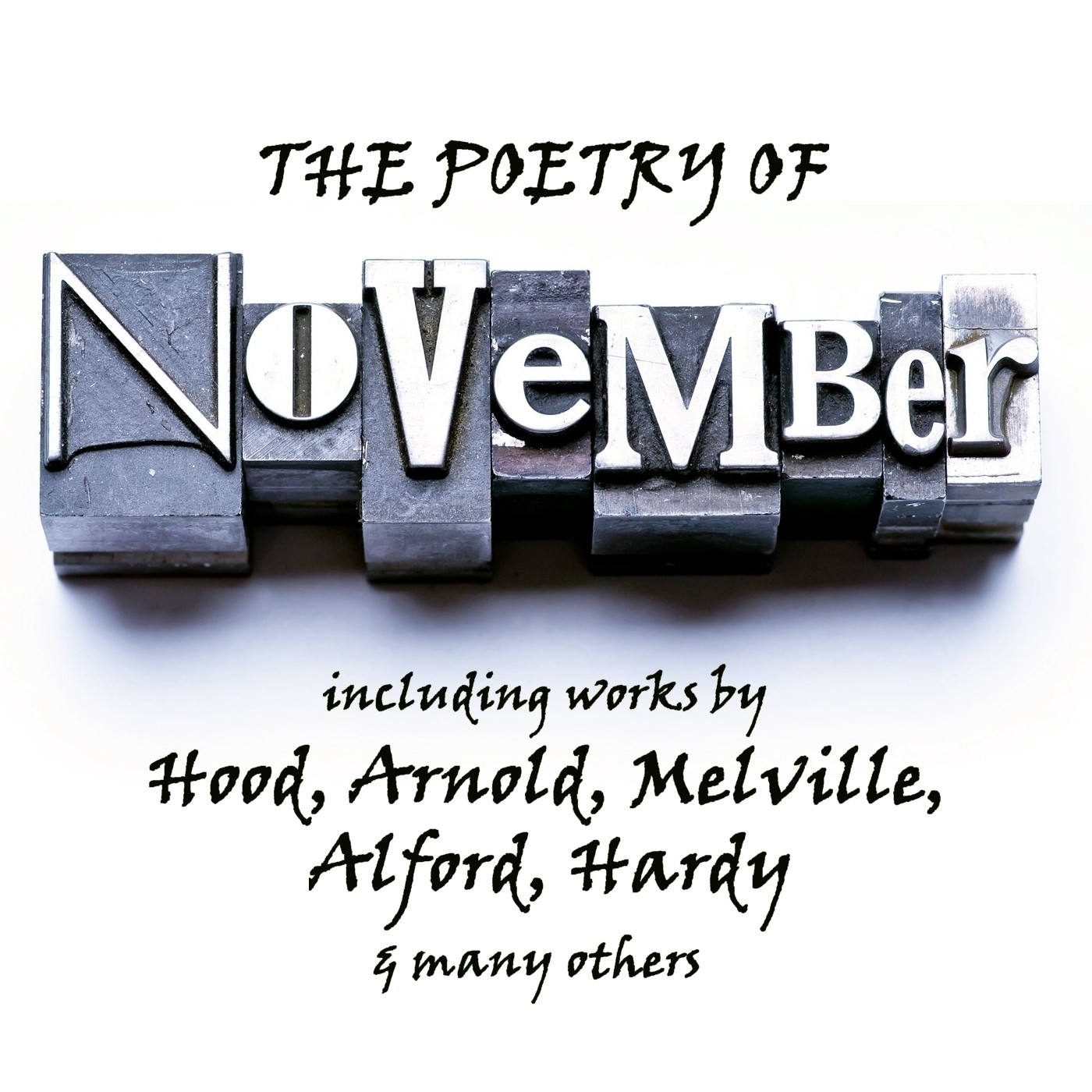 Printable The Poetry of November: A Month in Verse Audiobook Cover Art